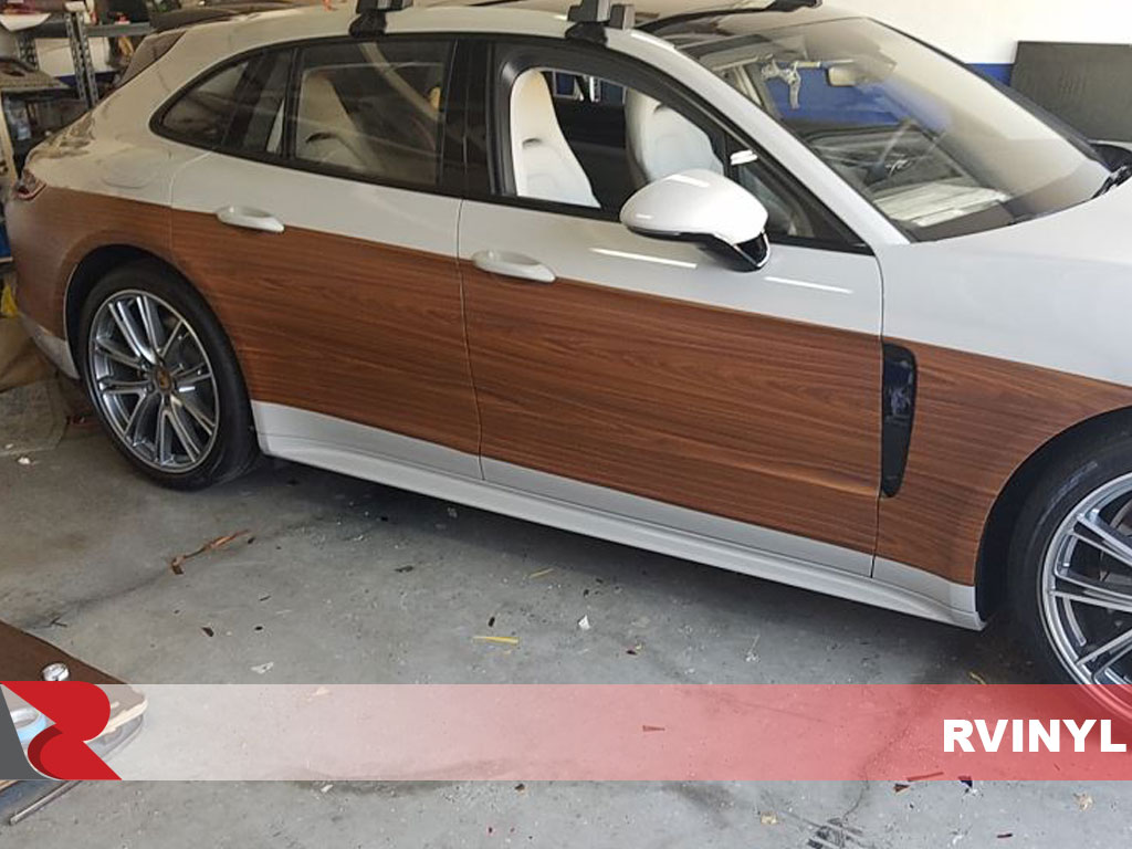 Rcraft? Walnut Wood Panamera Conversion Wrap