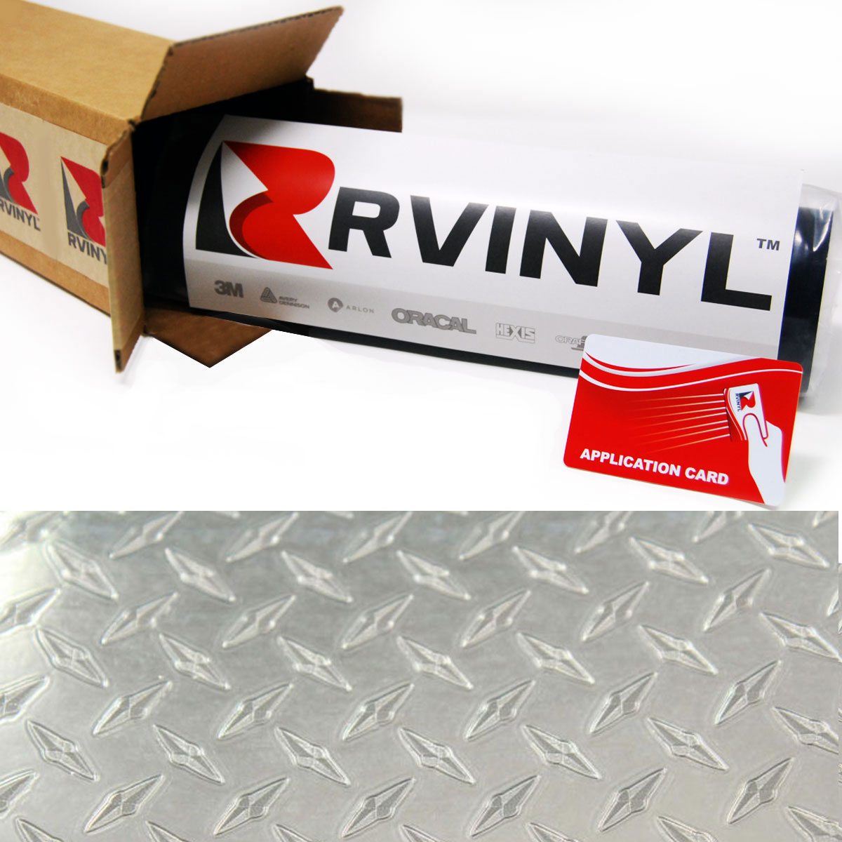 Diamond Plate Craft Vinyl