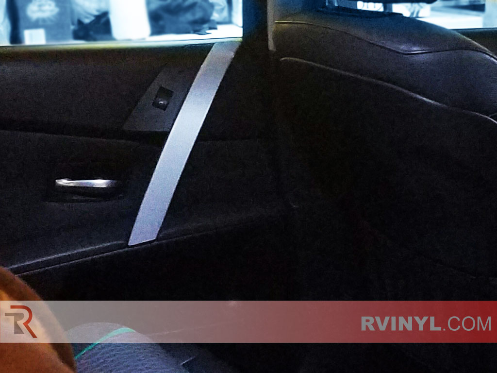 Rdash Dash Kit Decal Trim for BMW 5-Series 2004-2007 Carbon Fiber 4D Black