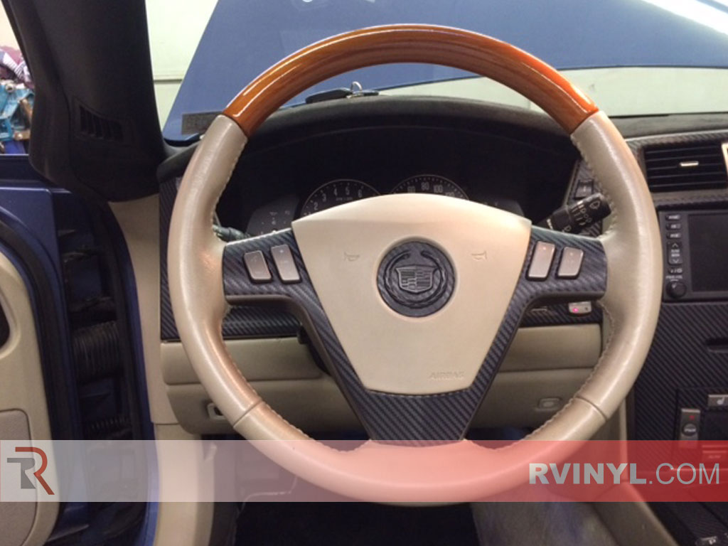 Cadillac XLR Carbon Fiber Steering Wheel Trim