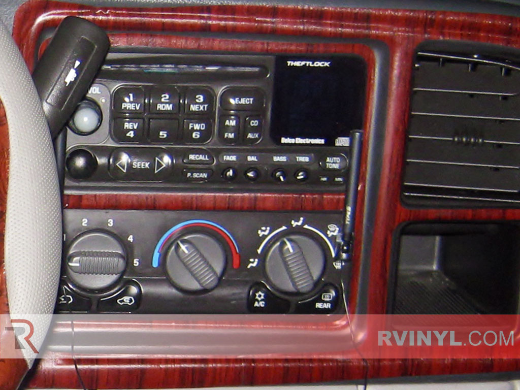 2002 avalanche radio dash kit