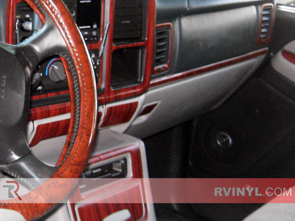 Mahogany Custom Dash Kit for the Chevy Avalanche