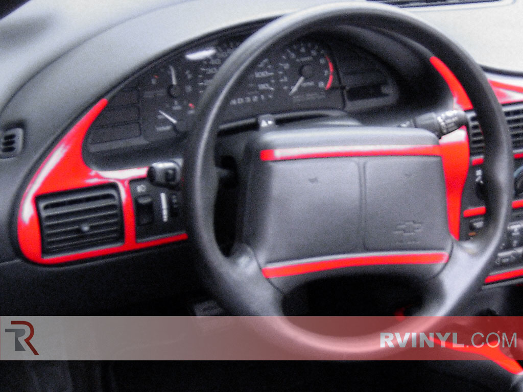 Gloss Red Chevrolet Cavalier Custom Dash Kit