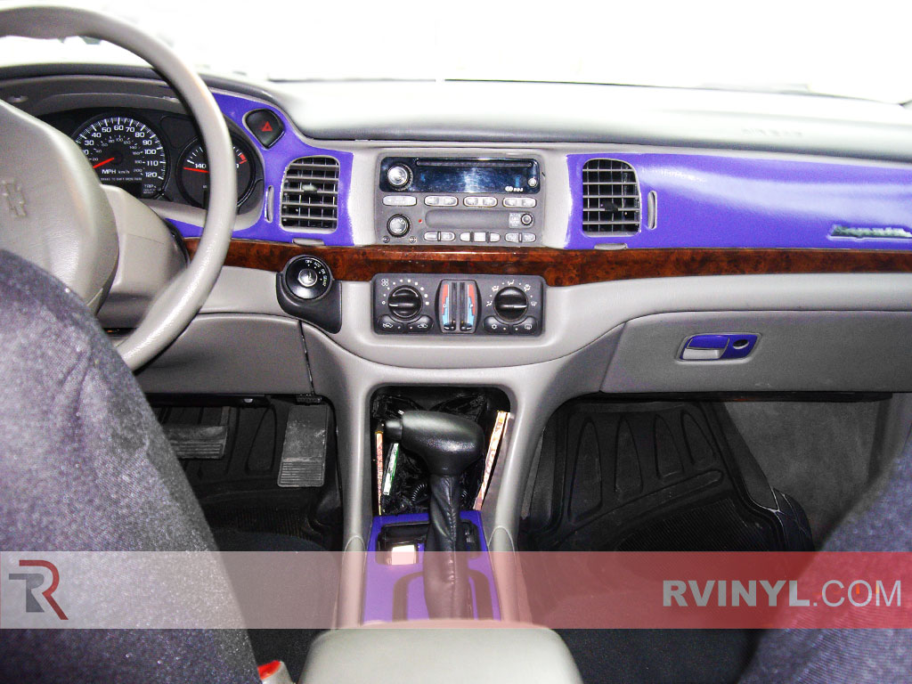 Gloss Purple Chevy Impala Custom Dash Kit