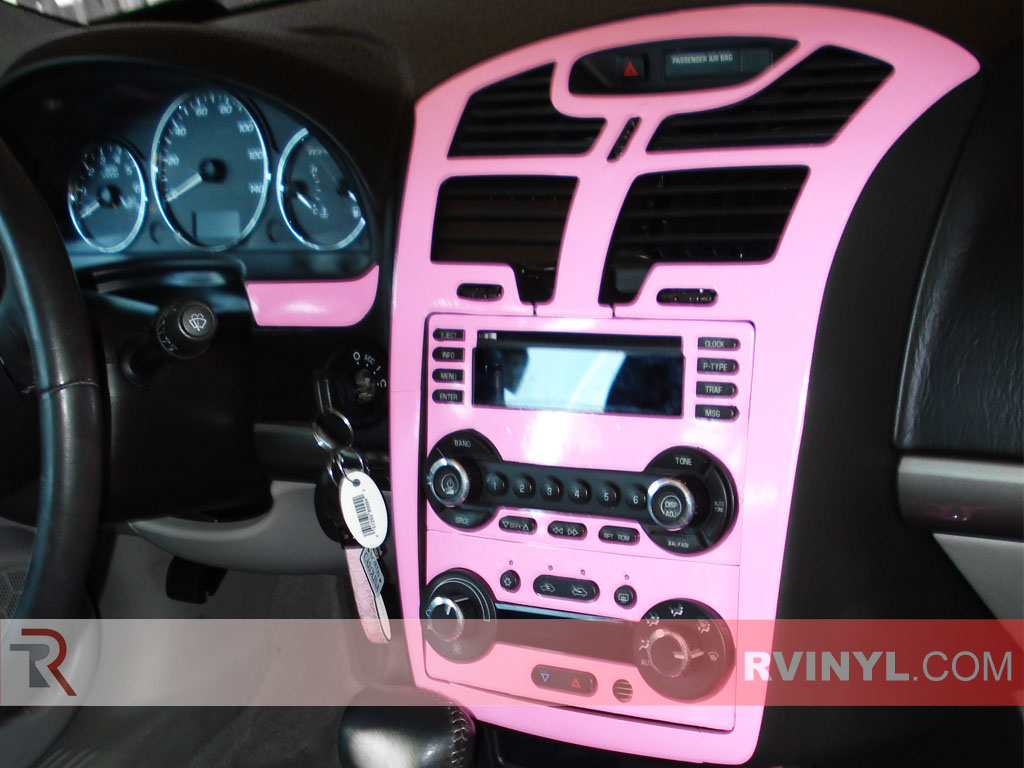 Chevrolet Malibu Gloss Pink Custom Dash Kit