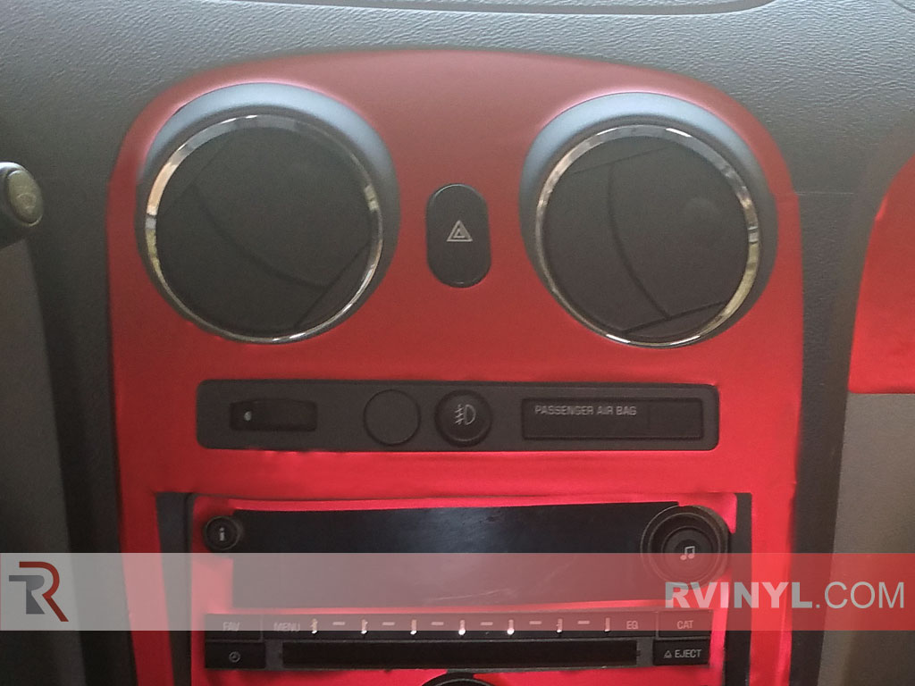 Red Matte Chrome Custom HHR Dash Kit