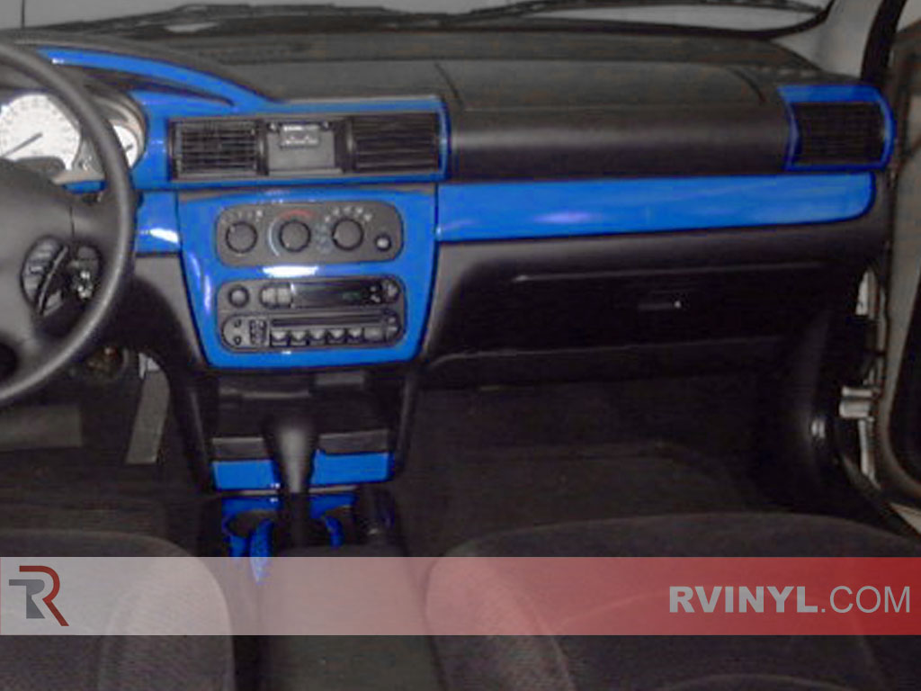 Chrysler Sebring Convertible 2001 2006 Blue Dash Kits