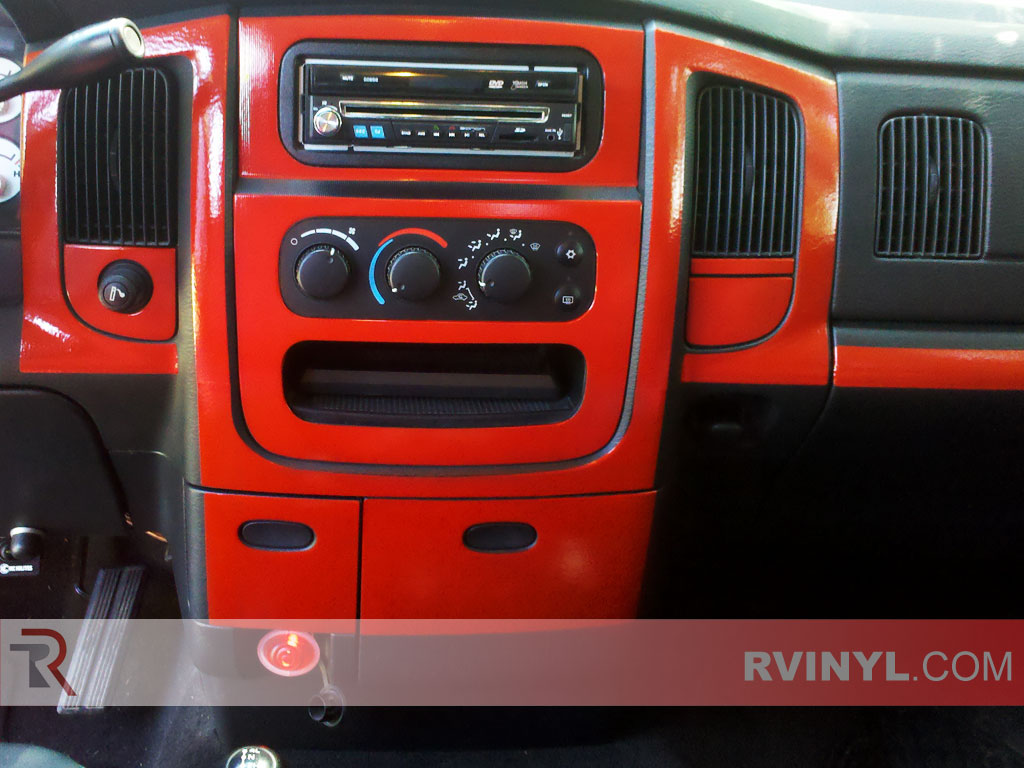 Dodge Ram 2002 2005 Dash Kits With Radio Surround