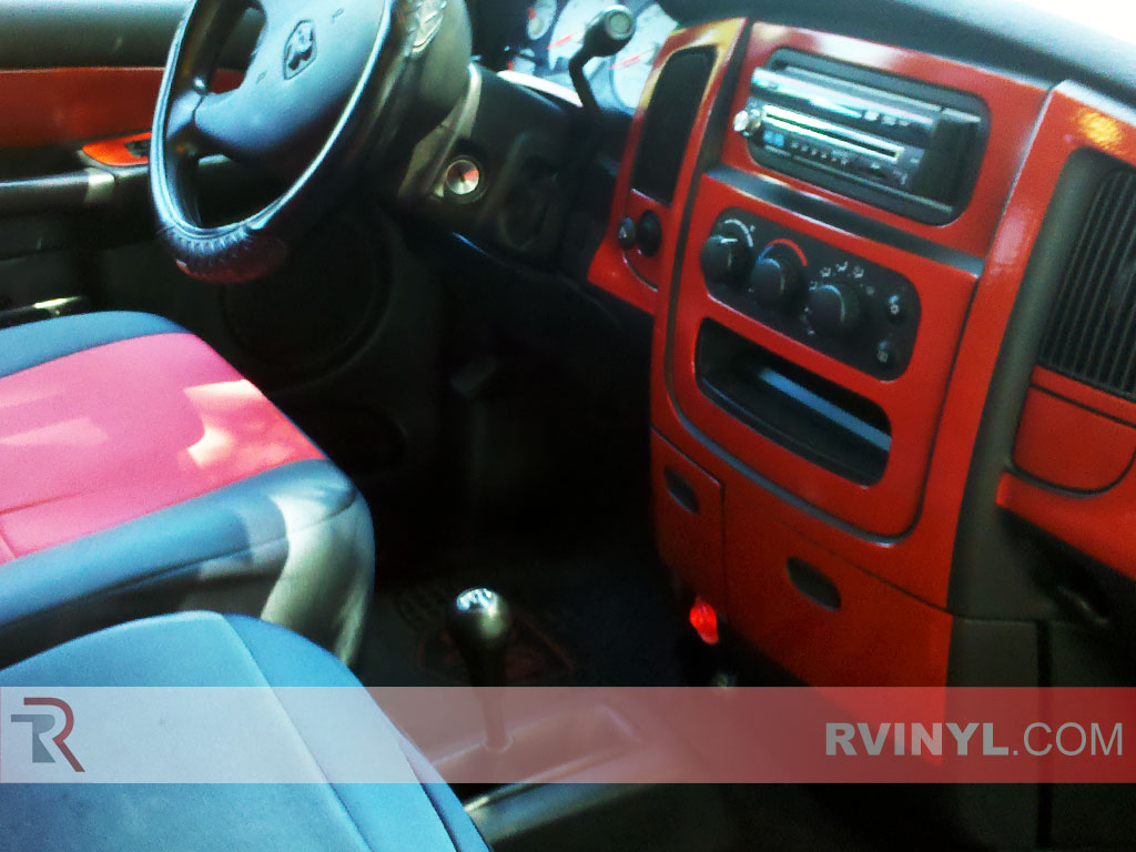 dodge ram 2003 interior