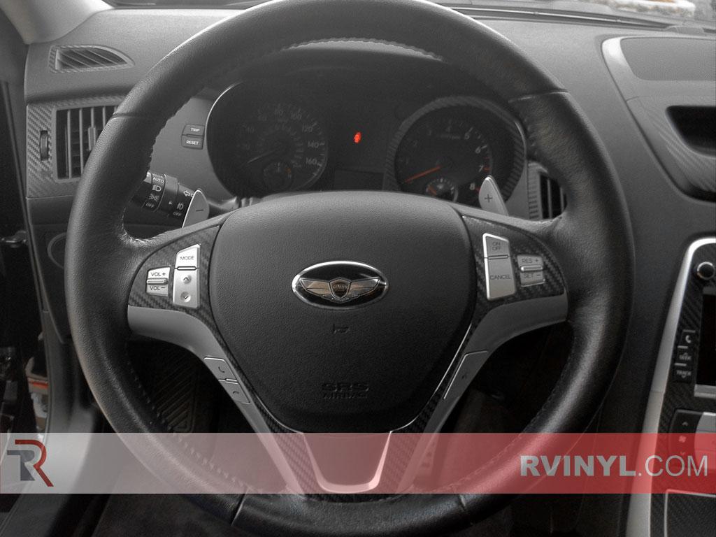Hyundai Genesis Coupe 2010 2012 Dash Kits Diy Dash Trim Kit