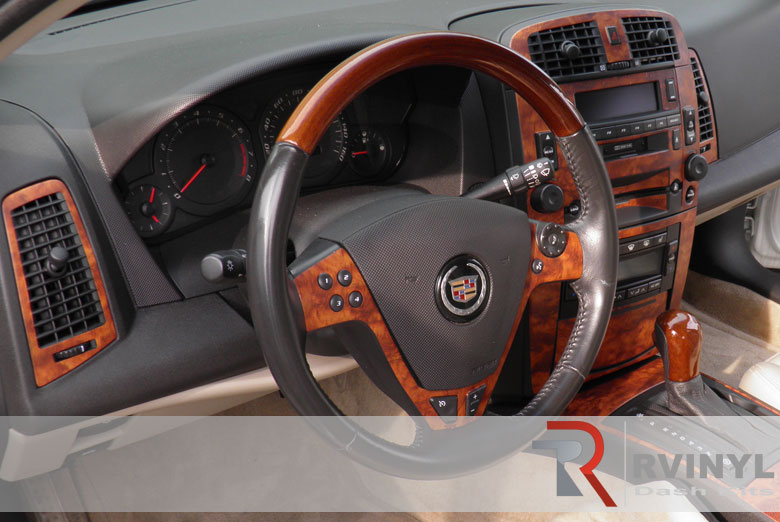 Cadillac CTS Custom Wood Dash Kit