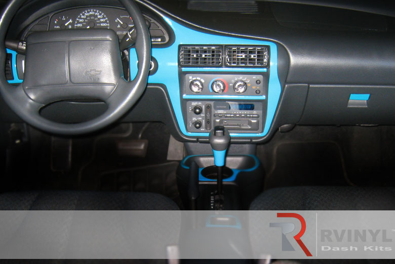 Blue Custom Dash Kit
