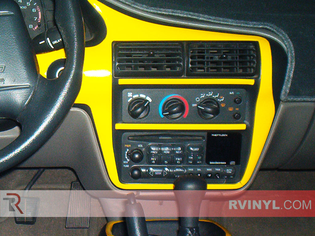 Chevrolet Cavalier 2000 2005 With Radio Surround Trim