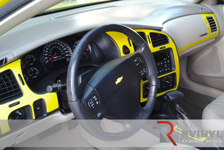 Chevrolet Monte Carlo 2000 Yellow Dash Kit