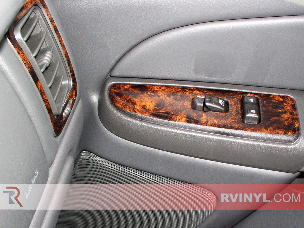 Chevy Silverado 2003 2006 Burlwood Dash Kits With Penger Side Door Panel Trim