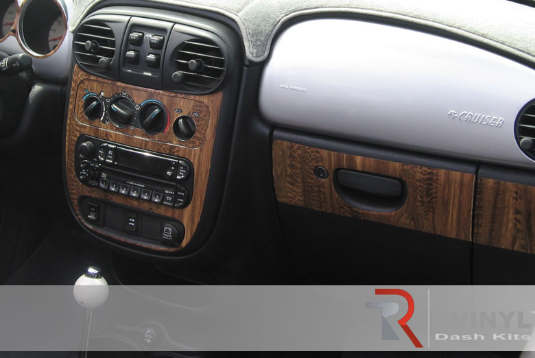 Chrysler PT 2005 Zebrano Wood Dash Kit