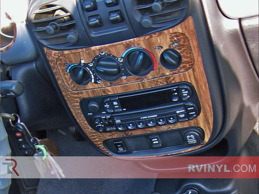 Vinyl//Chrome Door Trim Kit 8p for 2001-2005 Chrysler PT Cruiser