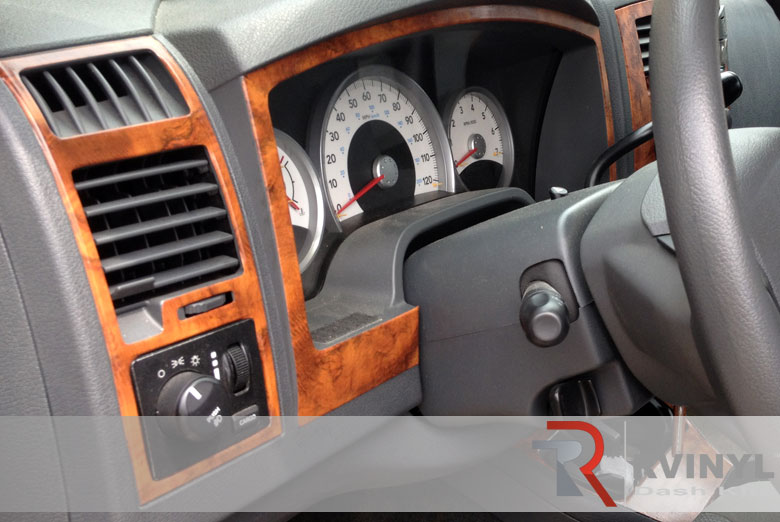 Dodge Dakota 2004 Wood Dash Kit