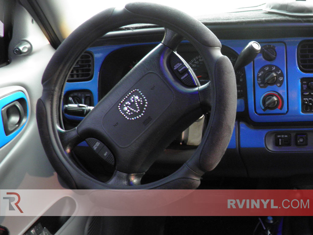 Dodge Durango 1998 2000 Blue Dash Kits With Sdometer Trim