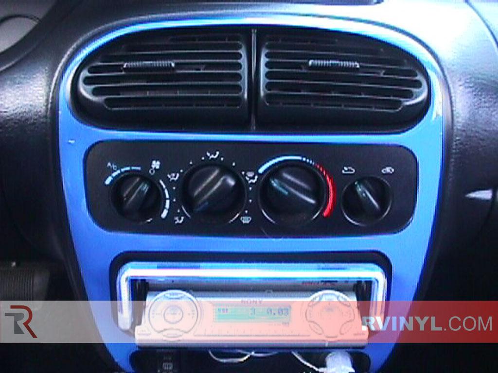 99 2000 Neon Radio Dodge Stereo Wiring Diagram 2002 Fuse Box 2005 Dash Kits With Aftermarket Trim