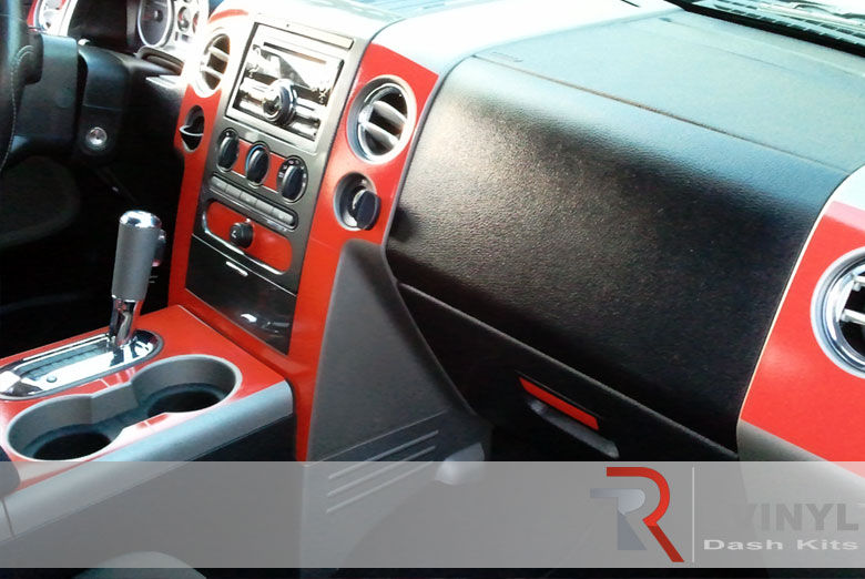 Ford F 150 2004 Orange Dash Kit