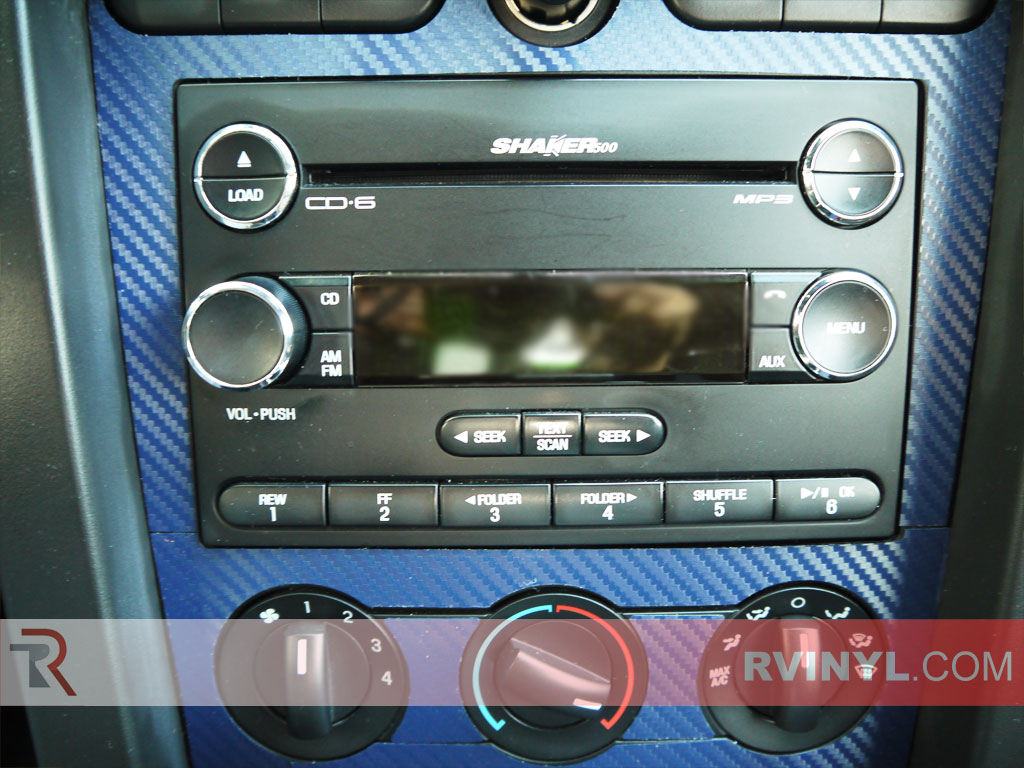 Ford Mustang 2005 2009 Dash Kits With Radio Trim