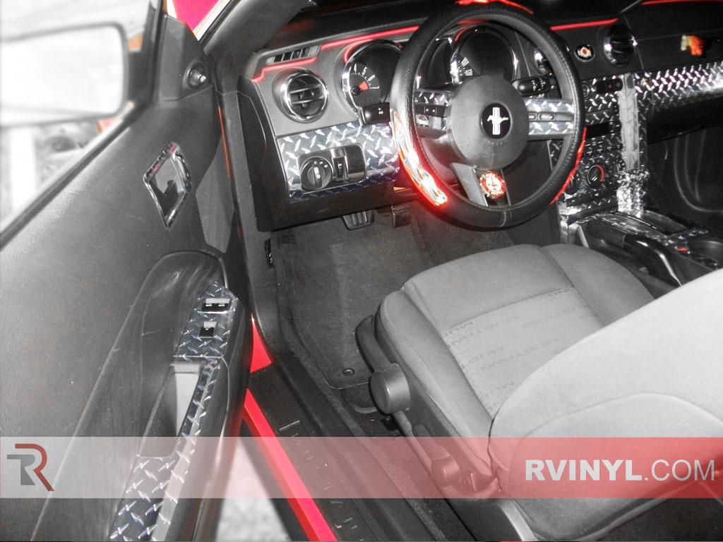 ford mustang 2005 2009 dash kits diy dash trim kit. Black Bedroom Furniture Sets. Home Design Ideas