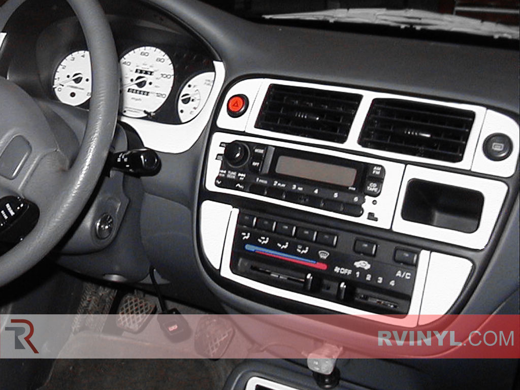 Honda Civic 1996 1998 Custom Dash Kits With Factory Radio Surround