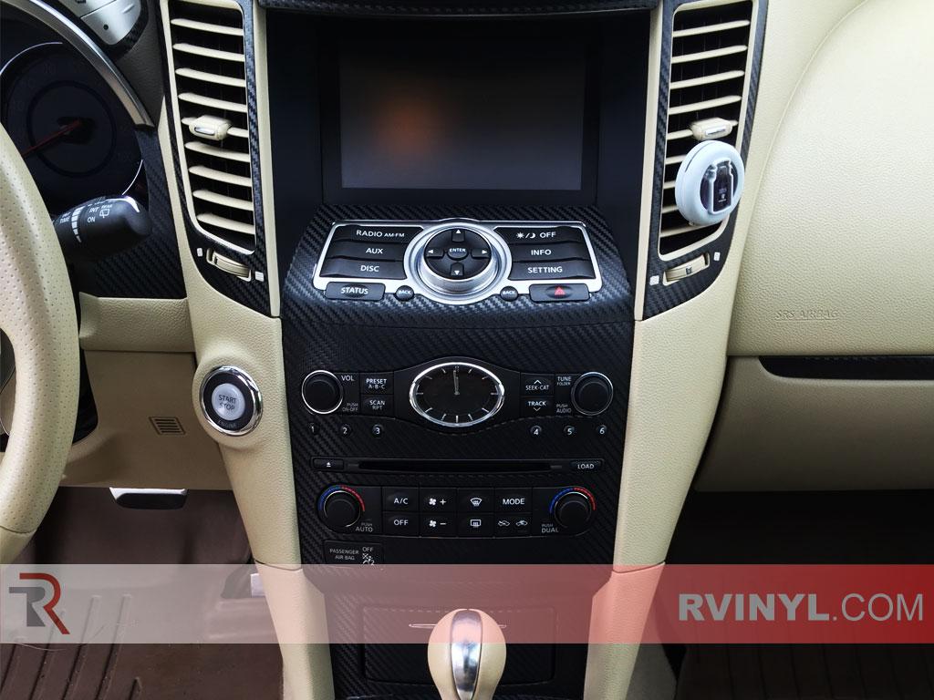 Infiniti FX35 2009-2013 Dash Kits With Radio Trim