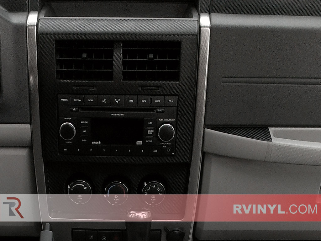 Jeep Liberty 2008-2012 Dash Kits With Factory CD Player Trim