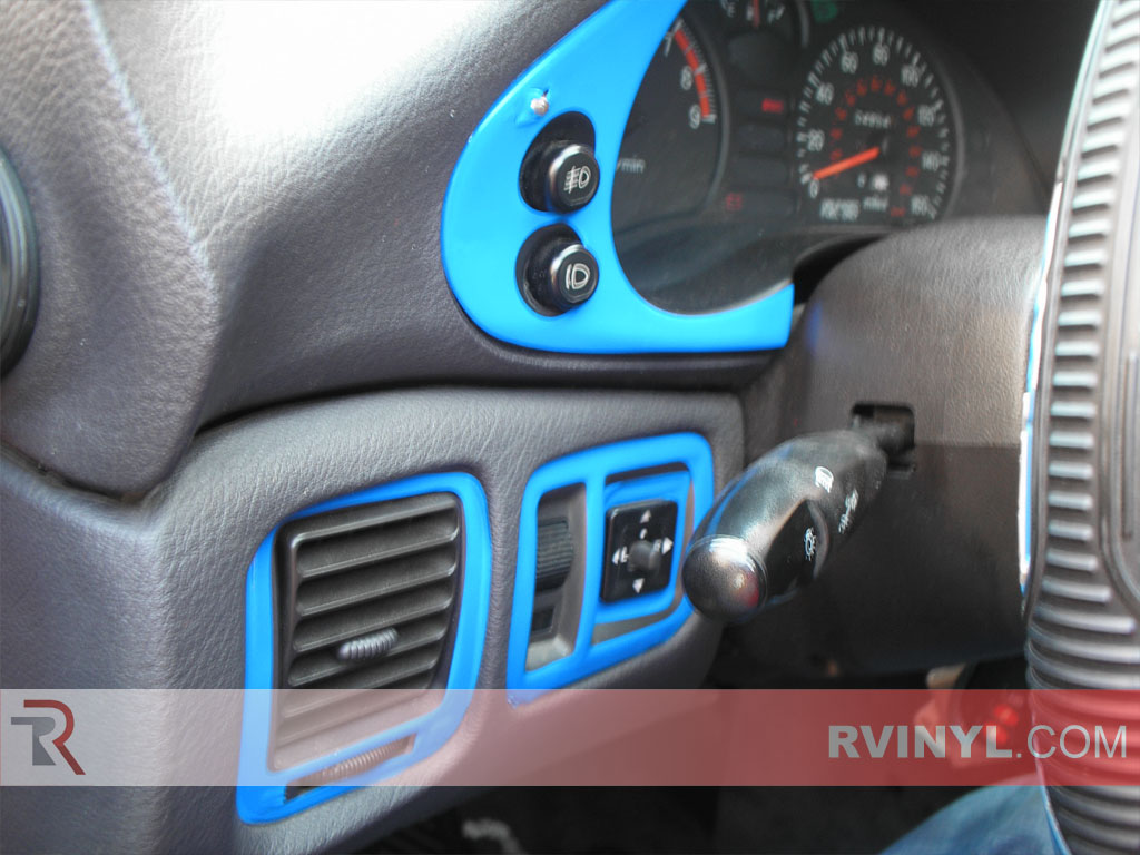 Mitsubishi 3000GT 1991-1999 Dash Kits With Blue Speedometer Accents