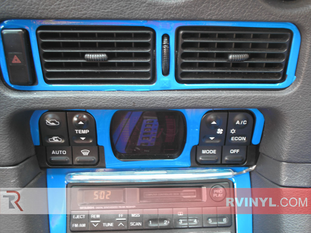 Mitsubishi 3000GT 1991-1999 DIY Dash Kits With Air Vent Surrounds
