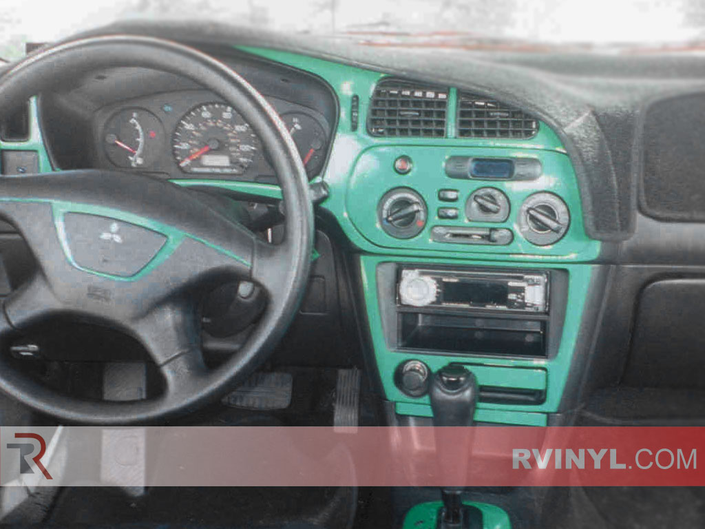 Mitsubishi Mirage 1997-2002 Dash Kits | DIY Dash Trim Kit