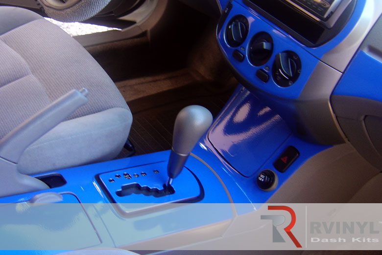 Nissan Altima 2002 Blue Dash Kit