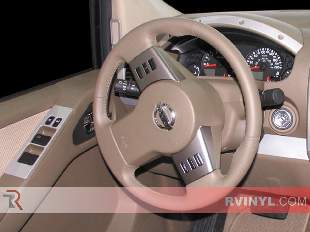 Nissan Frontier 2005-2008 Custom Dash Kits With Speedometer Trim