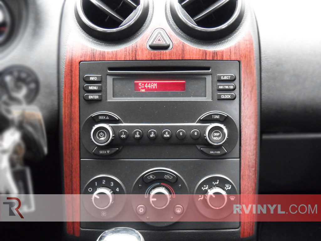 Pontiac G6 2005-2009 Dash Kits With Wood Grain Finish