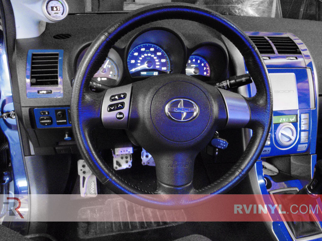 Scion Tc Blue Dash Kits