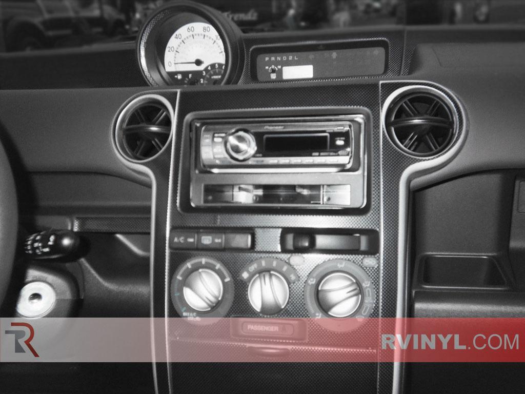 Scion Xb 2004 2006 Dash Kits Diy Trim Kit Engine Diagram With Factory Radio