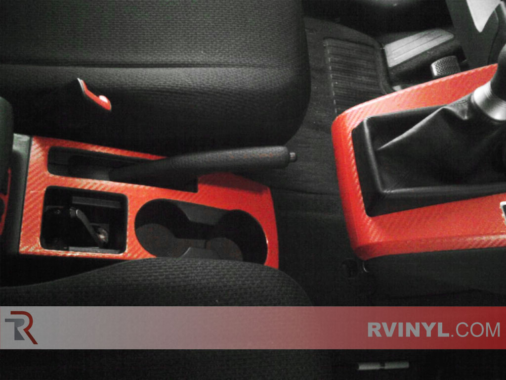 Rvinyl Rdash Dash Kit Decal Trim for Scion xB 2008-2015 Gloss Black