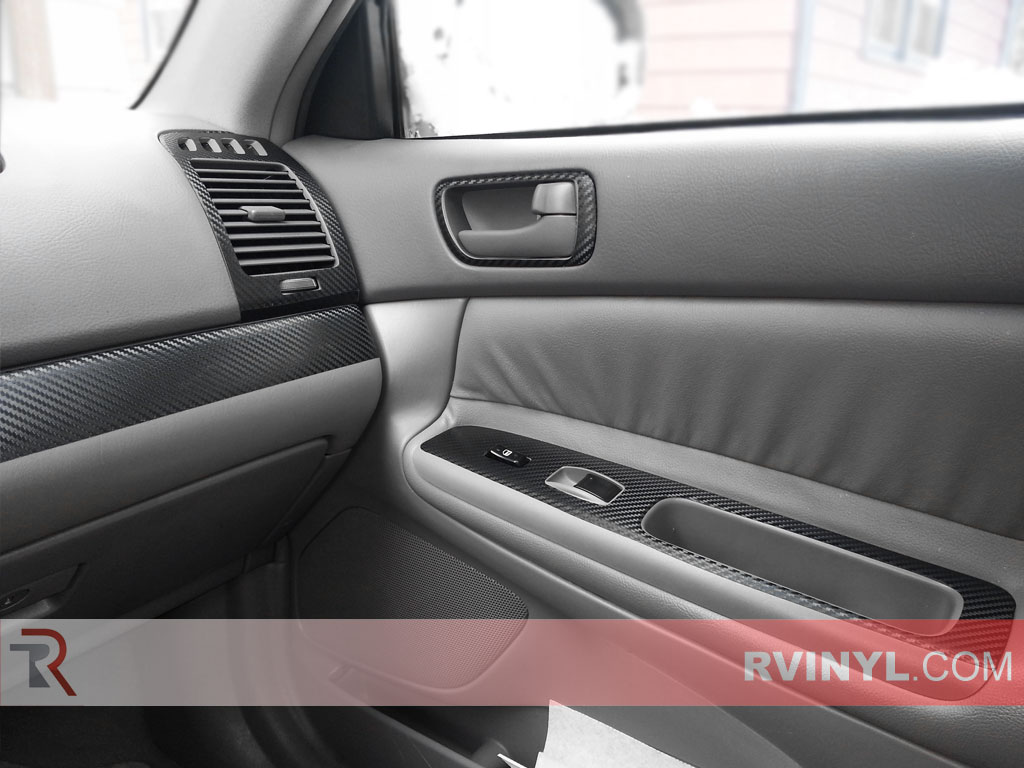 Toyota Camry 2002-2006 Dash Kits With Door Control Trim
