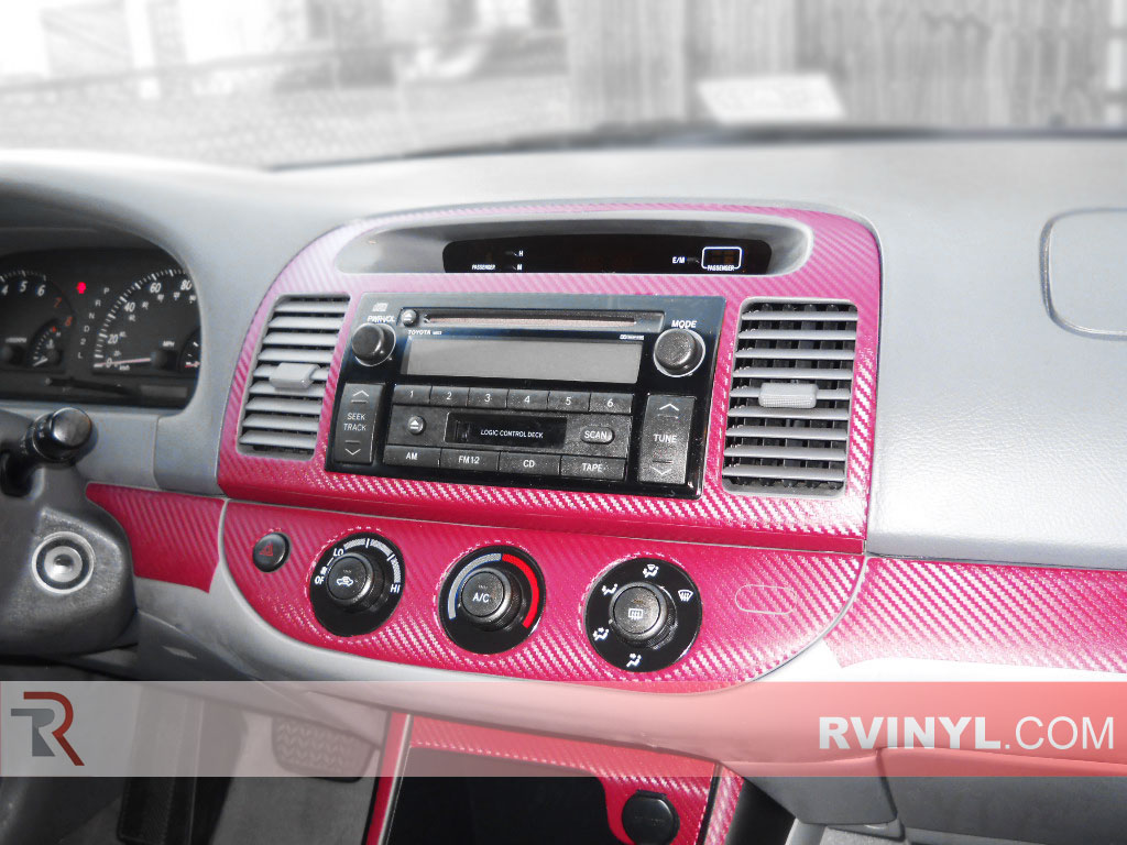 Toyota Camry 2002-2006 Dash Kits With Factory Radio Trim