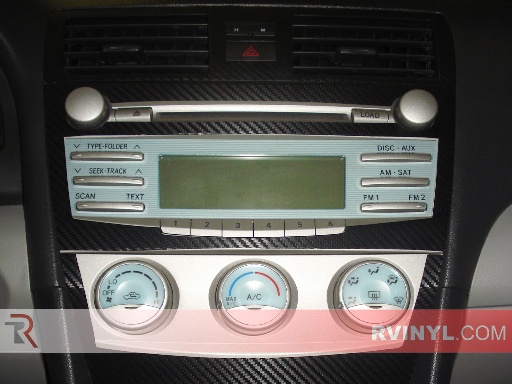 toyota camry 2007 interior. toyota camry 20072011 dash kits with factory radio trim 2007 interior
