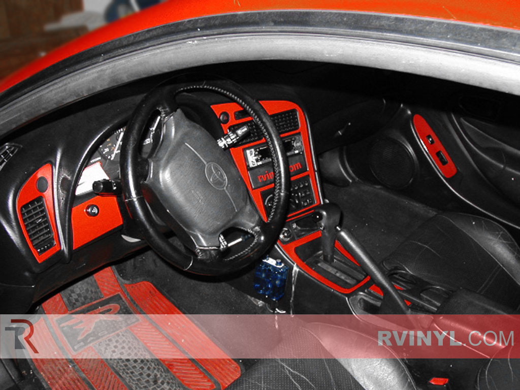 Toyota Celica 1994-1999 Red Dash Kits With Speedometer Accents