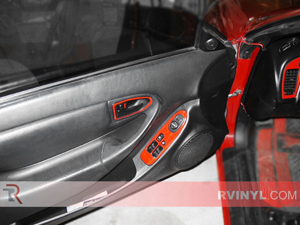 Toyota Celica 1994-1999 Dash Kits With Red Finish
