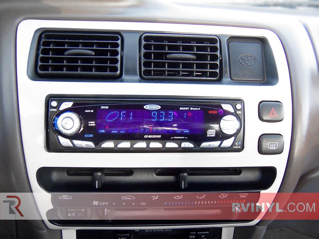 toyota corolla 1994 1997 custom dash kits with radio trim