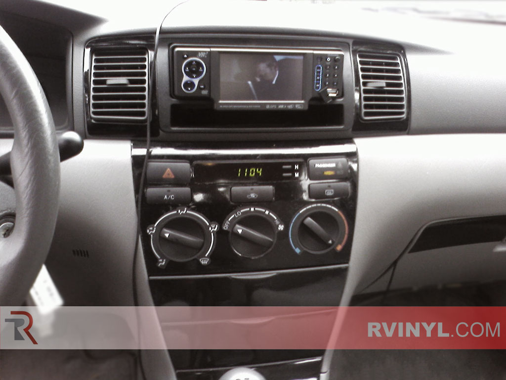 Toyota Corolla 2003 2008 Dash Kits Diy Dash Trim Kit