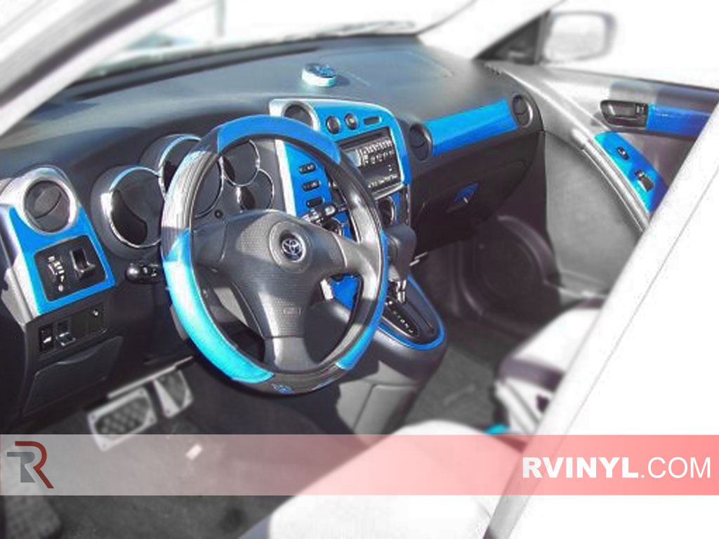 Toyota Matrix 2003 2008 Dash Kits With Blue Finish