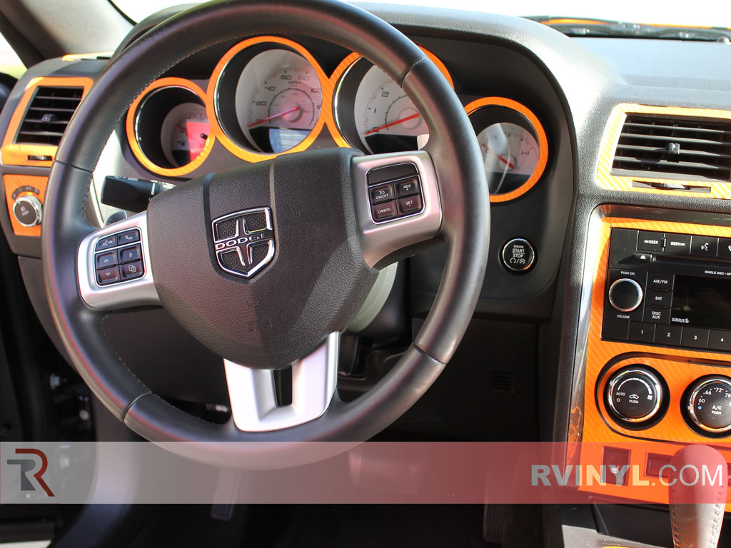 Dodge Challenger 2008 2014 Dash Kits Diy Dash Trim Kit