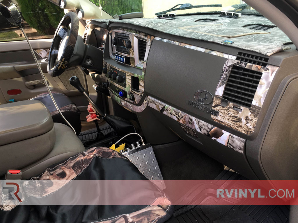 Hunter S Blind Camo Dash Trim Kit