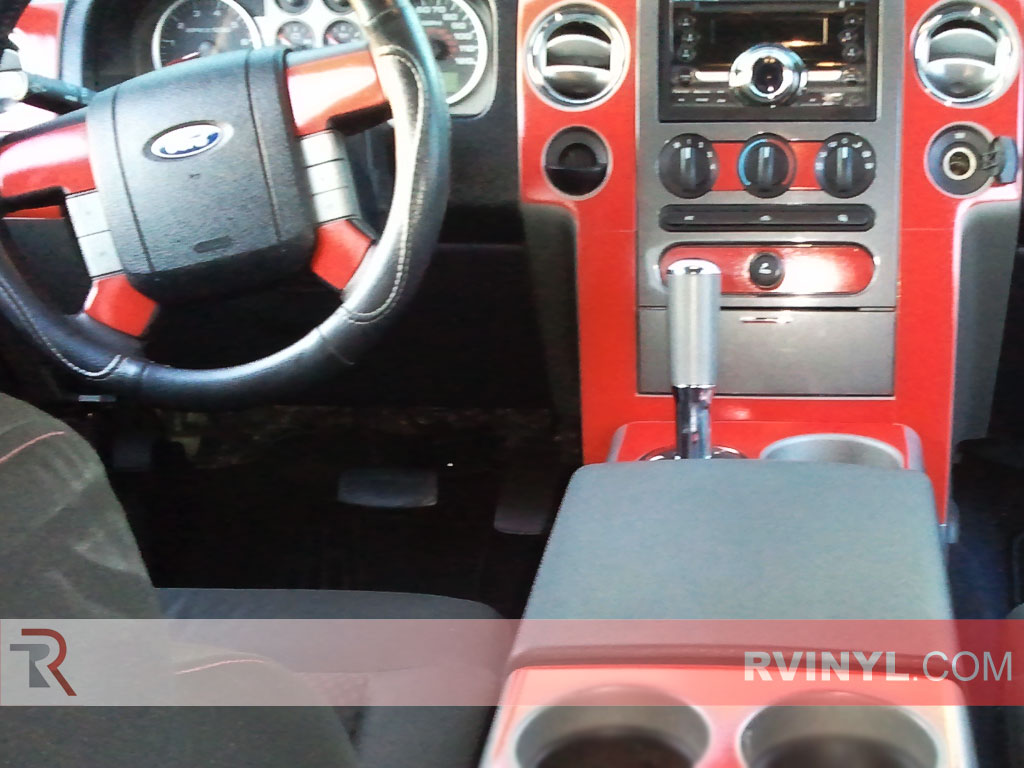 Ford F-150 FX4 / Lariat 2004-2008 Dash Kits With Center Console Trim